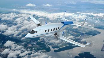 Légszennyezés nélkül repül a hidrogén-meghajtású gép