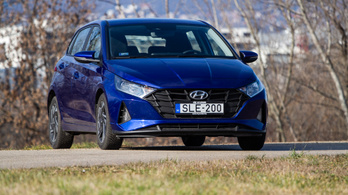 Teszt: Hyundai i20 - 2021.