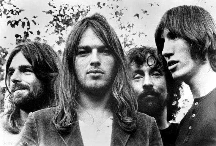 Pink Floyd 1973-ban.