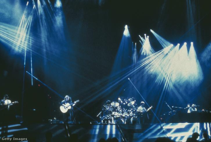 A Pink Floyd fellépése 1987-ben.