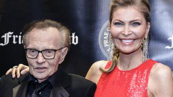 Larry King özvegye igényt tart a műsorvezető örökségére