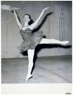 Susanna mint balerina 1954. január 3-án