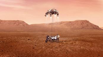Sikeresen leszállt a Marson a Perseverance