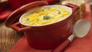 Leves cheddar sajttal és sonkával – ezt próbáld ki vacsorára!
