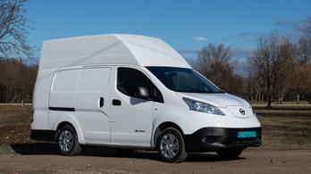 Teszt: Nissan e-NV200 XL Voltia - 2021