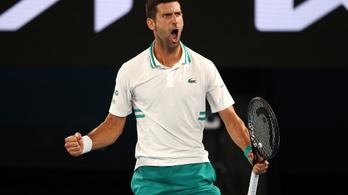 Eddig tartott a tündérmese – Djokovics döntős