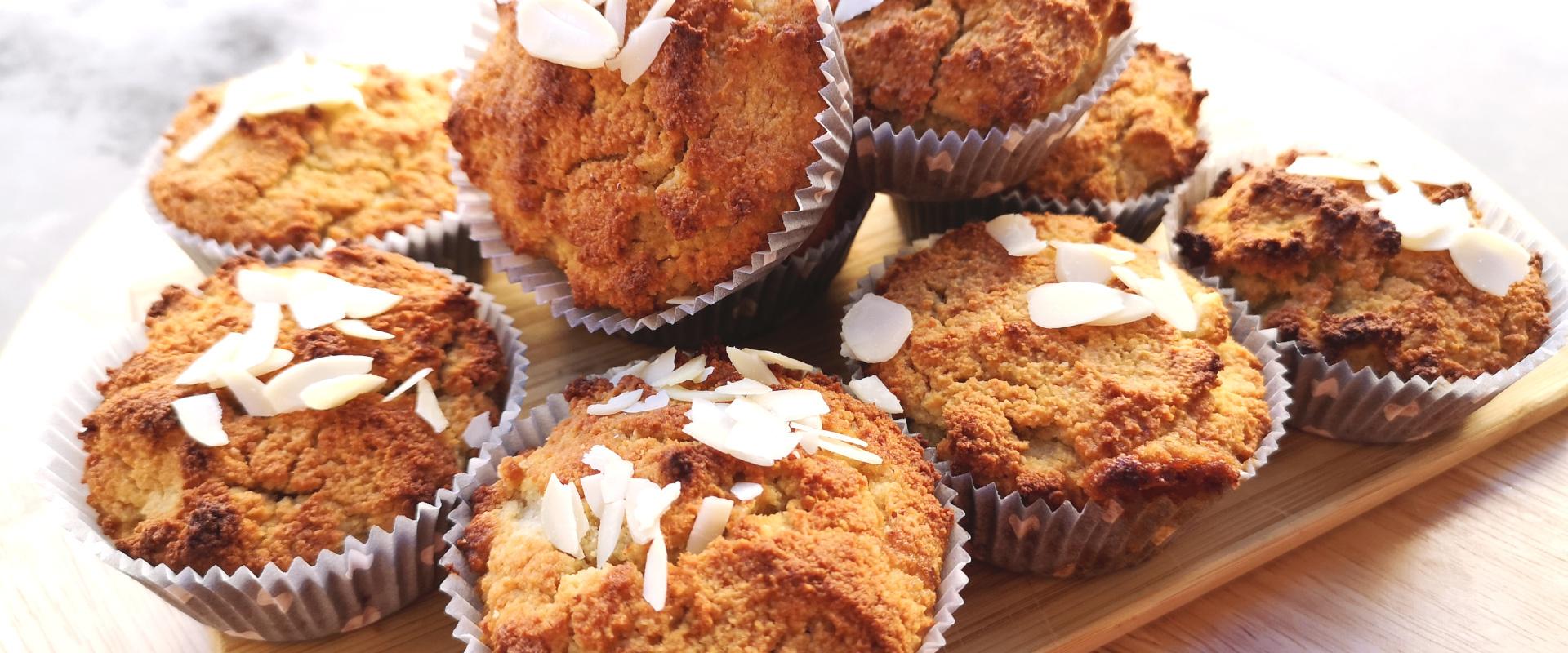 mandulalisztes muffin cover