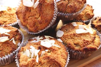 Szaftos, puha narancsos muffin mandulalisztből – Gluténmentes édesség egyszerűen