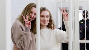 Élőben adták a tüntetést, két év börtönt kaptak
