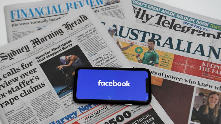A Facebook letiltotta a hírekről az ausztrálokat