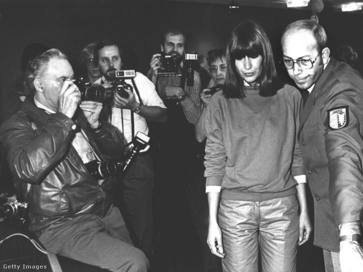 Marianne Bachmeier bíróság elé állították 1982. november 2-án.