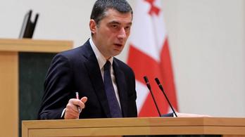 Lemondott a grúz miniszterelnök, mert elfogtak egy ellenzéki vezetőt