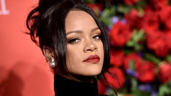 Rihanna hindu jelképpel a nyakában meztelenkedett, magára haragította a fél internetet