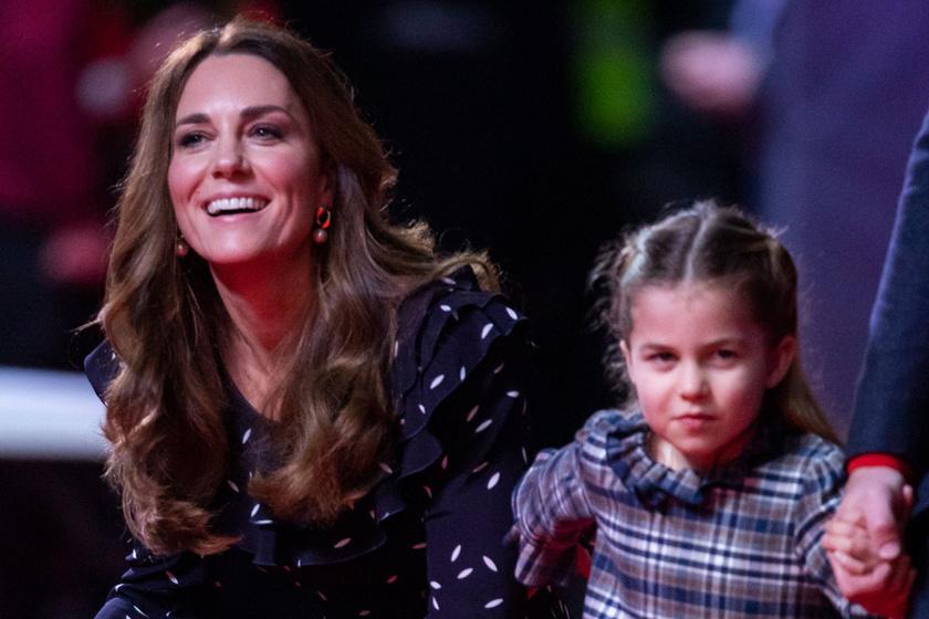 Charlotte hercegnő már most kiköpött Katalin: így utánozza le édesanyját