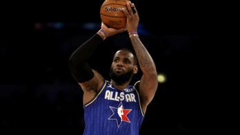 LeBron James tovább javítja saját All Star-rekordját