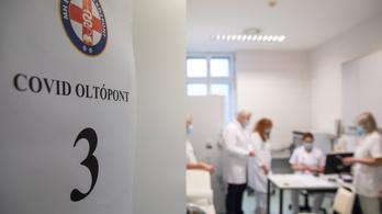 A Honvédkórházban 90 százalék feletti az egészségügyi dolgozók átoltottsága