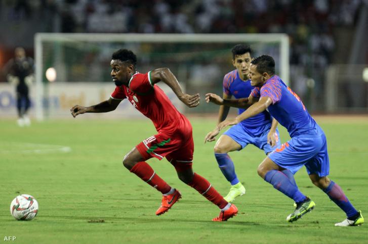 Az Omán–India találkozó volt az egyik utolsó, amit meg tudtak rendezni az ázsiai kvalifikációban