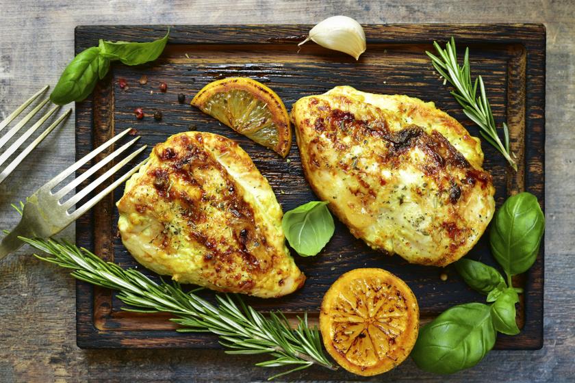 citromos rozmaringos csirkemell belső