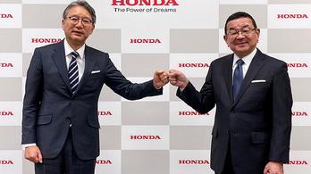 Reformokat ígér a Honda új vezetője