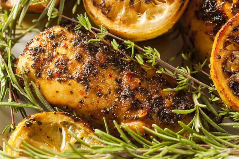 csirkemell citromos mustáros pácban