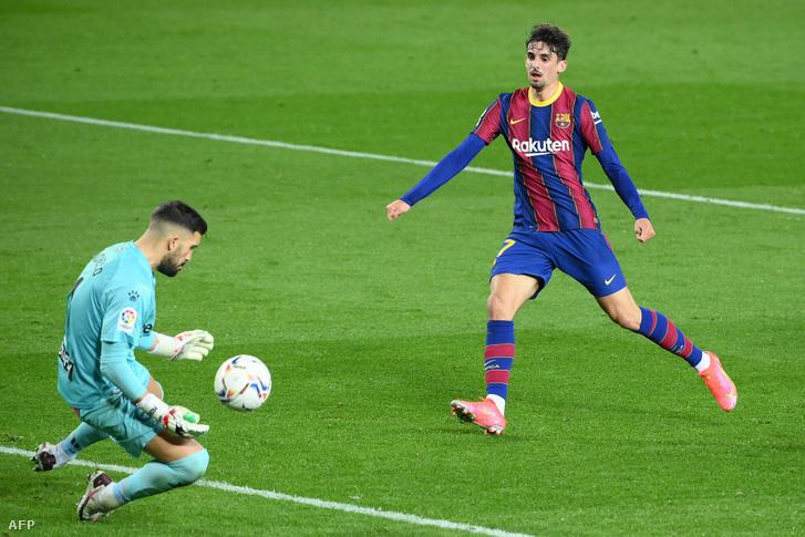 Francisco Trincao második gólja az Alavés ellen
