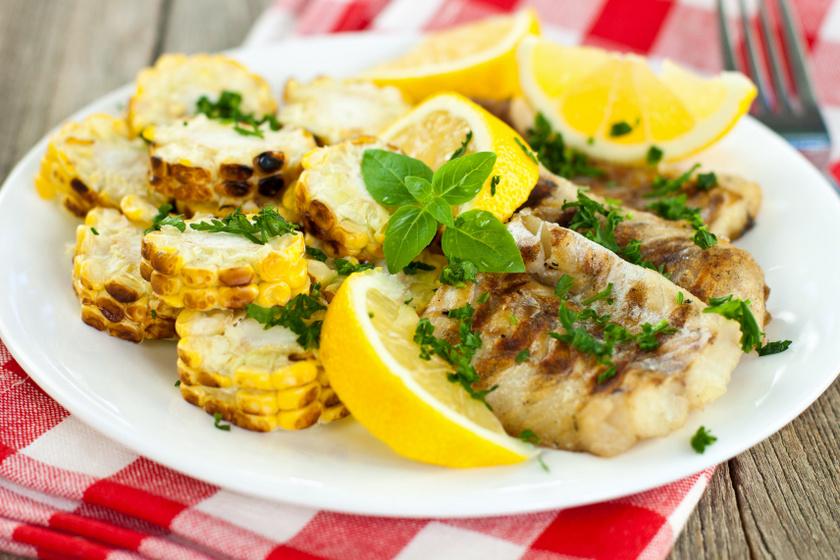 grillezett citromos hal belső