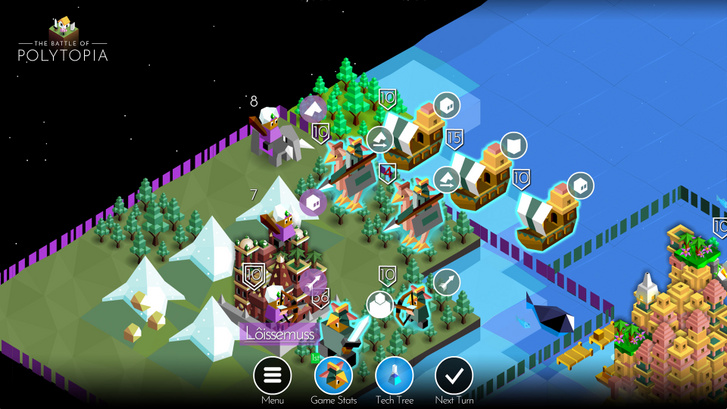 The Battle of Polytopia (Forrás: Steam)