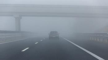 Jön a sűrű köd, figyelmeztetést adtak ki fél Magyarországra