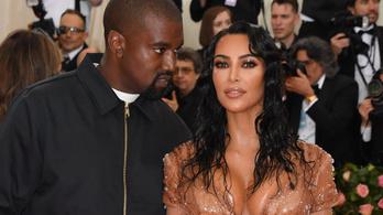 Itt a vége, Kim Kardashian beadta a válópert Kanye West ellen