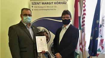 Leváltották a Szent Margit Kórház főigazgatóját