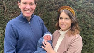 Eugénia hercegnő megmutatta első gyerekét, a nevét is közzétették