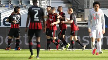 A Frankfurt klubrekordja újabb Bayern-verést ért