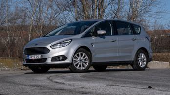 Használt autó: Ford S-Max TDCI (2016)