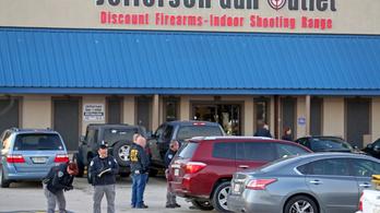 Lövöldözés egy New Orleans-i fegyverboltban, hárman meghaltak
