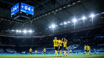 Balhéztak a Schalke és a Dortmund szurkolói, de nem egymással – videó