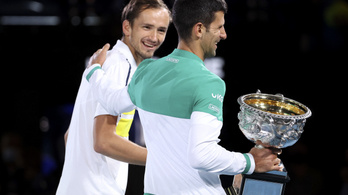 Djokovics: Danyiil biztosan nyer majd GS-tornát, de még várjon pár évet