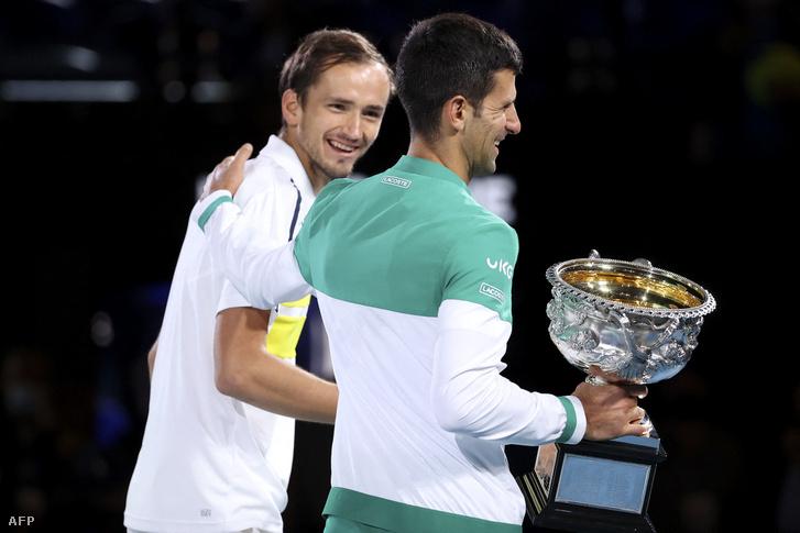 Kölcsönös a tisztelet a két teniszező között