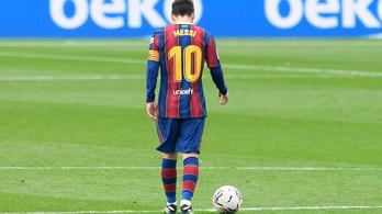 Messi hiába írt történelmet, a Barca elszórakozta a győzelmet