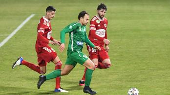 Bognár István meglőtte a forduló gólját, a Paks egy pontra a dobogótól