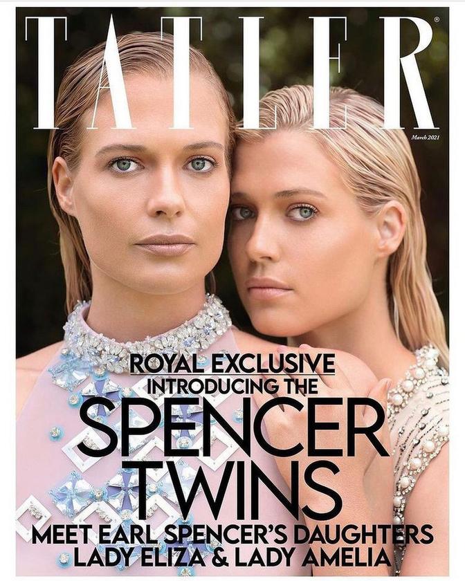 De nemcsak ő modellkedik, hanem húga Eliza Spencer is