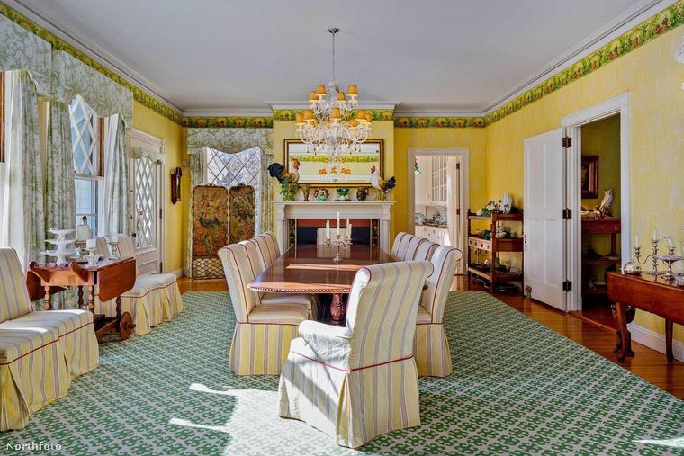 A ház stílusa eltér azoktól, amilyeneket általában mutatni szoktunk önnek