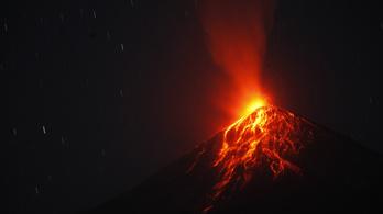 Újra kitört Guatemala pusztító vulkánja