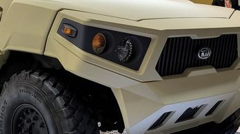 Új katonai járműveket mutatott a Kia