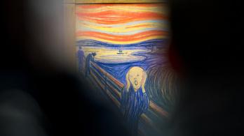 Edvard Munch a Sikolyról: Csak egy őrült festhette