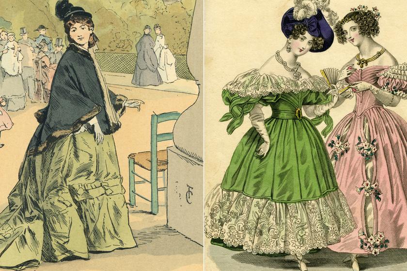 Miért volt halálos az 1800-as évek legnagyobb divatja, a smaragdzöld ruha? Az úri körökben sorra haltak meg a nők miatta