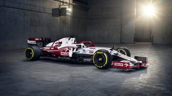 Ezzel az autóval versenyeznek majd Räikkönenék az F1-es szezonban