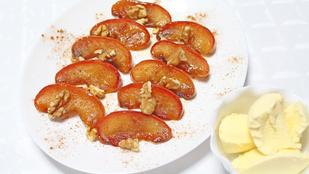 Desszert a forrólevegős sütőben? Süsd meg ezt a pekándiós-almás finomságot!