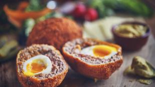 Skót tojás – Készítsd a tojásos ebéded forrólevegős sütőben!!
