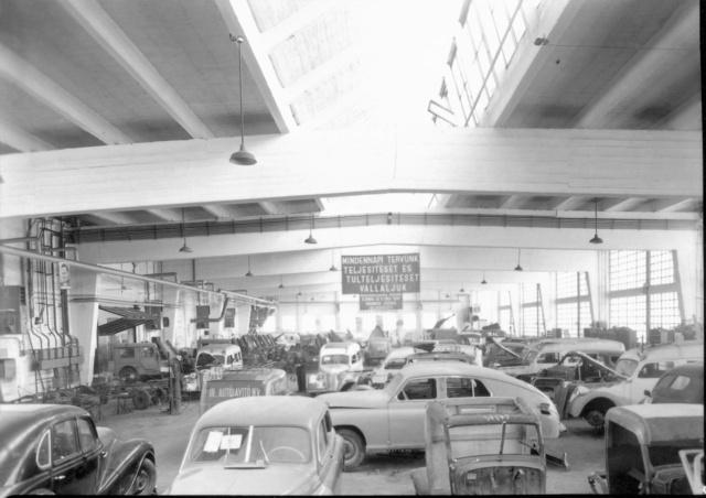 A III. számú autójavító 1951-ben
