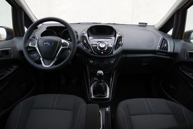 Ford-forma, jellegzetes a műszerfal
